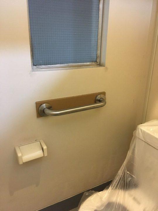 トイレのカビ取り後
